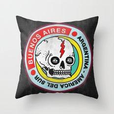 sudamerica Throw Pillow