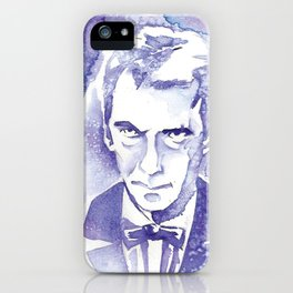 Angry Eyebrows iPhone Case