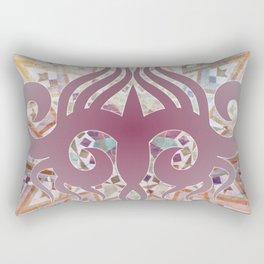 Mosaik Ornaments Collage Rectangular Pillow