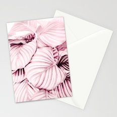 Long embrace - pink Stationery Cards