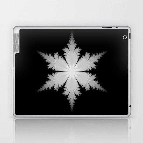 Fractal Snowflake Laptop & iPad Skin