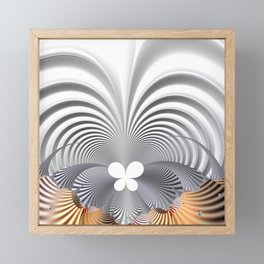 Butterfly effect Framed Mini Art Print