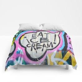 Eat Ice Cream! Comforters