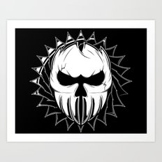 Skull Head One Art Print