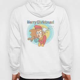 Merry Christmas Snowball Hoody