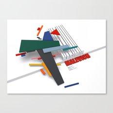 Malevich 3D Canvas Print