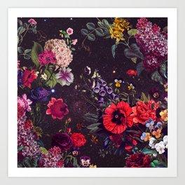 Astro Garden Art Print