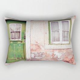 A house full of stories Rectangular Pillow