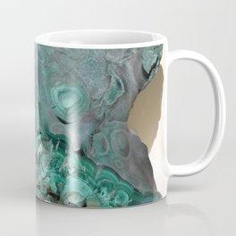 Natural Malachite Coffee Mug