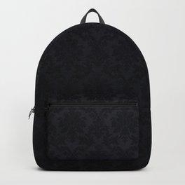 Black damask - Elegant and luxury design Backpack