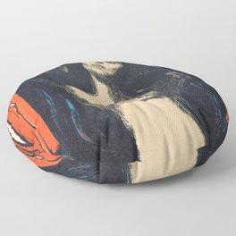 Edvard Munch - Madonna - Digital Remastered Edition Floor Pillow