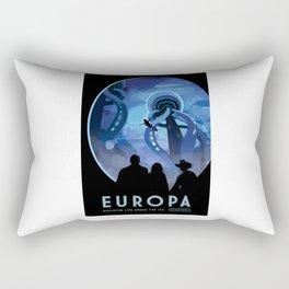 Europa - NASA Space Travel Poster Rectangular Pillow