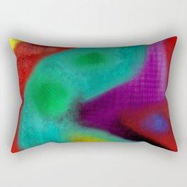 alucinogeno Rectangular Pillow