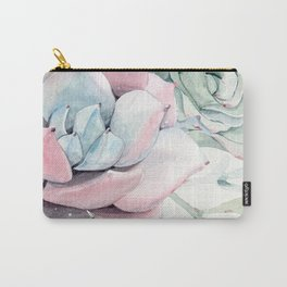 Garden of Succulents Carry-All Pouch