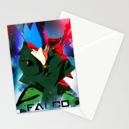Melee | Falco - Green Stationery Cards
