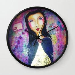 Self discovery Wall Clock