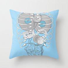 Internal Rhythm Throw Pillow