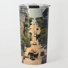 It's a Cubist's World Travel Mug