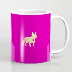 French Bulldog Gold Mug