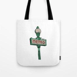 metropolitan. Tote Bag