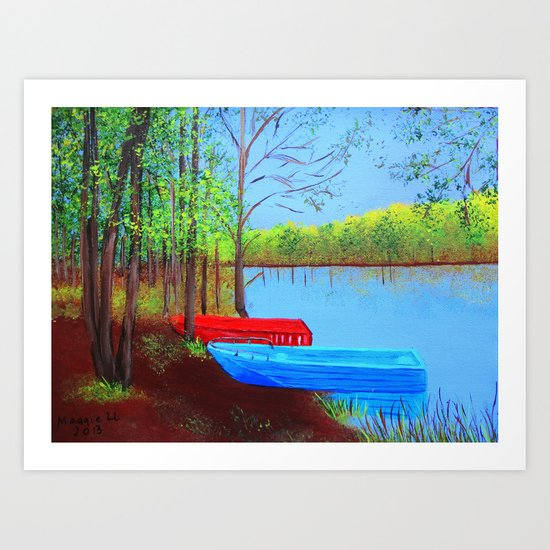 Beautiful place to be  Art Print