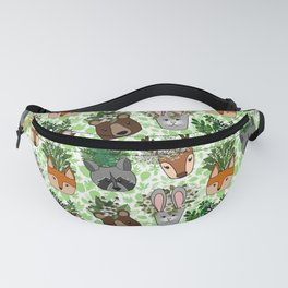 Woodland Wildflowers Animal Planters Fanny Pack