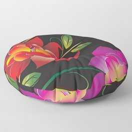 Flowers Floor Pillow