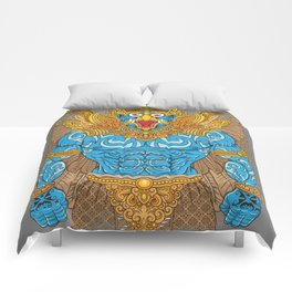 Garuda Warrior Comforters