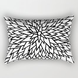 White Star Rectangular Pillow