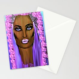Bride of the Morning Oil Painting Stationery Cards