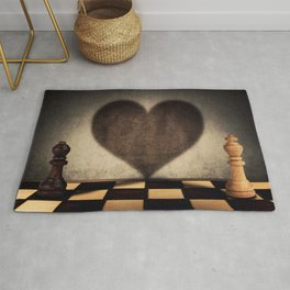 the impossible relationship Rug