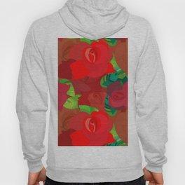 Rose Pattern Hoody