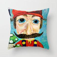 1up Throw Pillow
