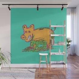 Pig Vector Selection Wall Mural