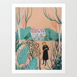 Winchester Mystery House Art Print