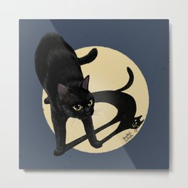 Naughty shadow Metal Print