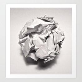 White Trash Art Print