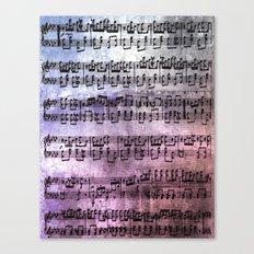 Little Bit of Music Canvas Print
