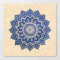 contact Canvas Prints featuring ókshirahm sky mandala by Peter Patrick Barreda