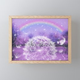 Hope - Pink Framed Mini Art Print