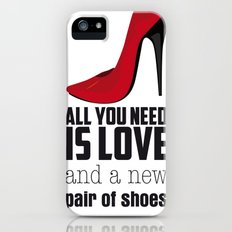 All you need is love! Slim Case iPhone (5, 5s)