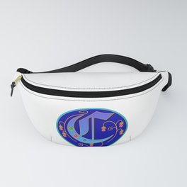 Initial Letter C Fanny Pack