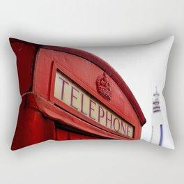 Telephone Box & Tower Rectangular Pillow