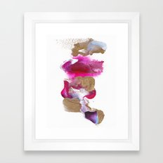 Eloise Abstract Painting Framed Art Print