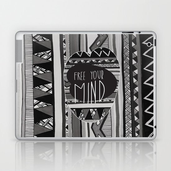 FREE YOUR MIND Laptop & iPad Skin