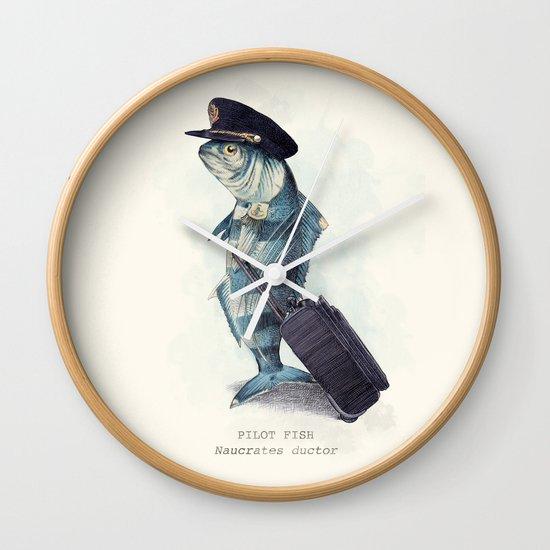 The Pilot Wall Clock