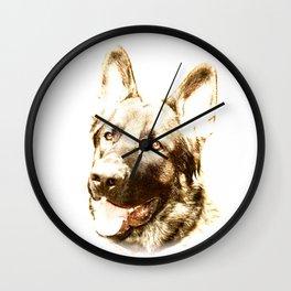 Happy Shepherd Wall Clock