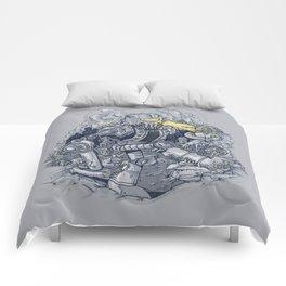 Zombie Exterminator Comforters