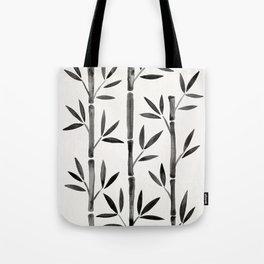 Black Bamboo Tote Bag