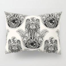 Hamsa Hand Elephant Pillow Sham